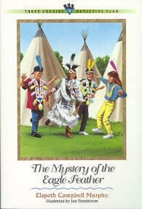Mystery of the Eagle Feather (#09 in Three Cousins Dc Series)
