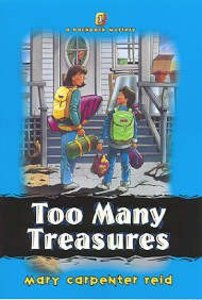Too Many Treasures (#01 in Backpack Mystery Series)