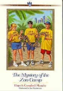 Mystery of the Zoo Camp (#14 in Three Cousins Dc Series)