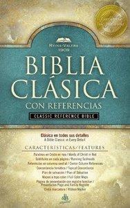 Santa Biblia Reina-Valera 1909 Reference Negro Spanish Reina-Valera Translation Reference Black (Red Letter Edition)