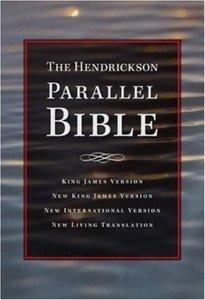 Niv/Nlt/Nkjv/Kjv Hendrickson Parallel Burgundy