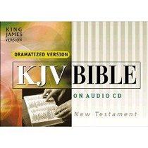 KJV Dramatized Bible on Audio CD: New Testament