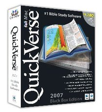 Quickverse 2007 Macintosh Black Box Edition CDROM