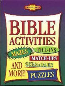 Bible Activities (Young Readers Series)