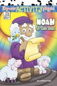 Flip-Over: Noah & the Ark (Flip-over Activity Playpad Series)