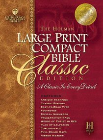 HCSB Compact Classic Edition Black (Large Print)