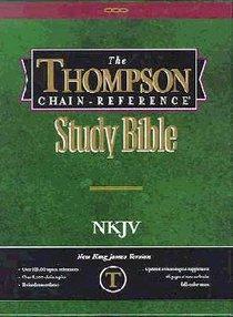 NKJV Thompson Chain Reference Burgundy (Red Letter Edition)
