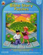 Bible Story Puzzles (Reproducible; Grades 1-3) (Fun Faith-builders Series)