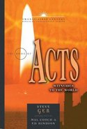 The Book of Acts (21st Century Biblical Commentary Series)