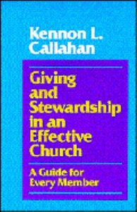 Giving & Stewardship in Effective Churches