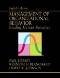 Management of Organizational Behavior (8th Edition)