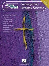 Contemporary Christian Favorites (Music Book)