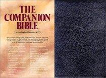 KJV Companion Bible, the Black/Indexed