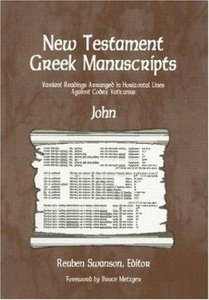 New Testament Greek Manuscripts: John