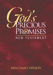KJV Gods Precious Promises New Testament Burgundy