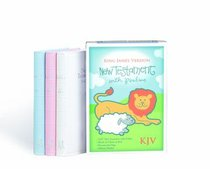 KJV Babys New Testament With Psalms Pink Imitation (Red Letter Edition)