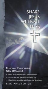 KJV Share Jesus Without Fear New Testament Black (Red Letter Edition)