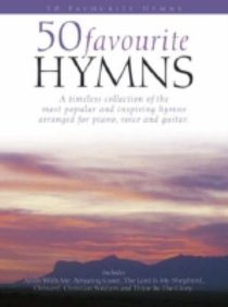 50 Favourite Hymns (Piano/Vocal/Guitar) (Music Book)