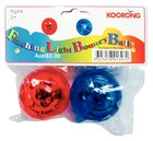 Flashing Light Bouncy Ball Pack of 2 Red & Blue (49Mm Balls)
