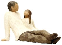 Willow Tree Figurine: Father and Daughter