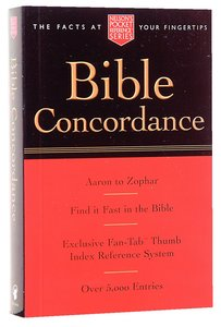 Bible Concordance (Nelson Pocket Reference Series)