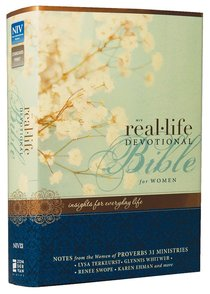 NIV Real-Life Devotional Bible For Women (Black Letter Edition)