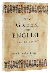 NIV Greek English New Testament (2011)