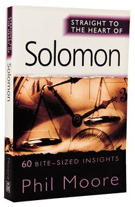 Solomon (Straight To The Heart Of Series)