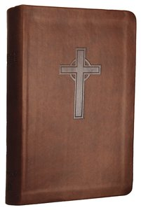 NKJV Personal Giant Print Reference Bible Dark Chocolate (Red Letter Edition) (Essentials)