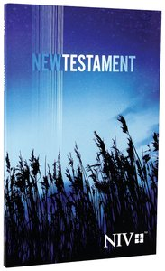 NIV Outreach New Testament Blue Wheat Cover (Black Letter Edition)