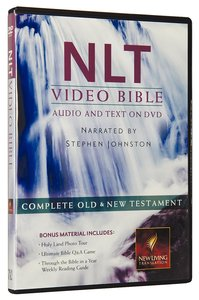 NLT Video Bible Narrated By Stephen Johnston (Audio And Text On Dvd Voice Only)