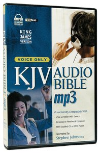 KJV Audio Bible MP3 Voice Only