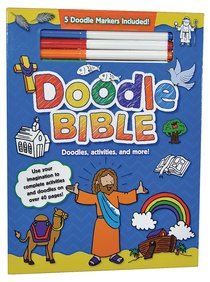 Doodle Bible (With 5 Doodle Markers Included)