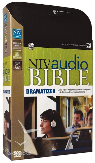 NIV Audio Bible Dramatized (64 Audio Cds Unabridged 76 Hrs)