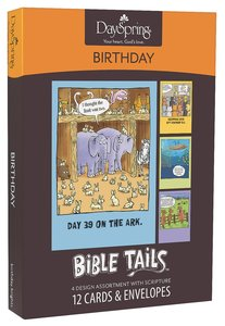 Boxed Cards Birthday Bible Tails