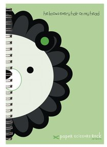 Unisex Ark A6 Spiral Notepads: He Knows Every Hair on My Head