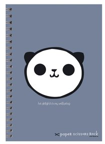 Unisex Ark A5 Spiral Notepads: He Delights in My Well Being