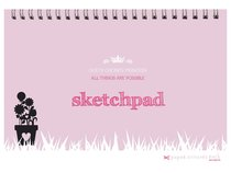 Girls Princess A4 Spiral Sketchpad: Gods Chosen Princess, All Things Are Possible