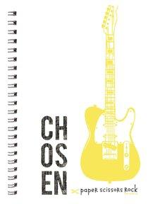 Teen Boys A6 Spiral Notepads: Chosen