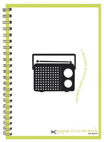 Unisex Retro A6 Spiral Notepad: A Cheerful Heart is Good Medicine
