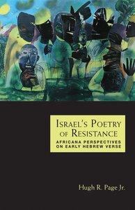 Israels Poetry of Resistance
