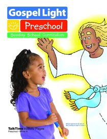 Gllw Wintera 2018 Ages 2/3 Talktime Activity Pages (Gospel Light Living Word Series)