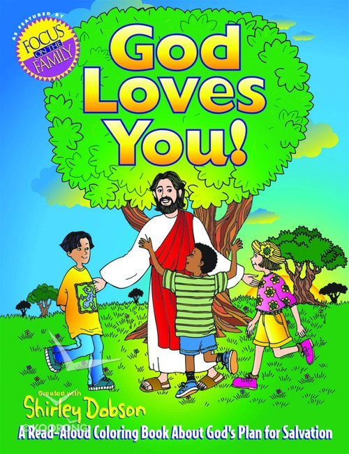 Buy Colouring Book God Loves You Shirley Dobson Books Series By Online