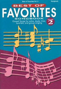 Best of Favourites V2 (Music Book)