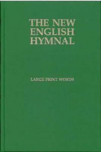 English Hymnal Only (Music Book) (Large Print)