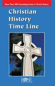 Christian History Time Line (Rose Guide Series)