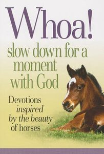 Whoa! Slow Down For a Quiet Moment With God