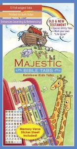 Majestic Bible Tabs Youth Noahs Ark