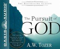 The Pursuit of God (Unabridged, 5 Cds)