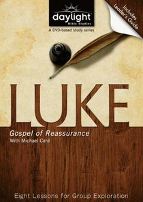 Luke (DVD With Leaders Guide) (Daylight Bible Study Series)